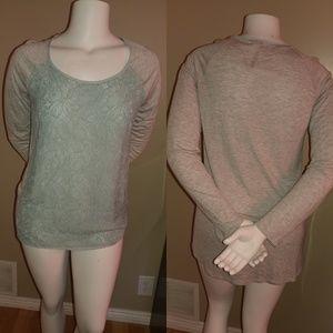 LC Lauren Conrad Long Sleeved Top